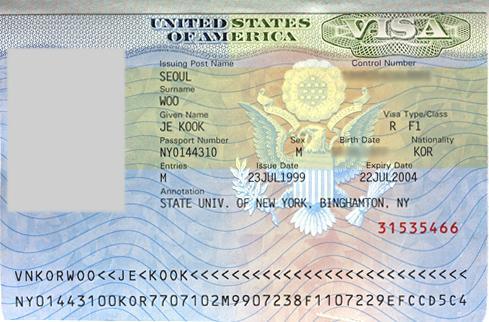 Solicitud de visado de trabajo para Estados Unidos