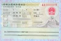 Documentos necesarios para solicitar un visado de tránsito para China