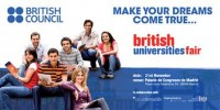 "Segunda Edición de la Feria ""British Universities Fair"" en Madrid y Málaga"