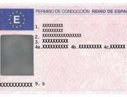 Canje de permiso de conducir español en Brasil