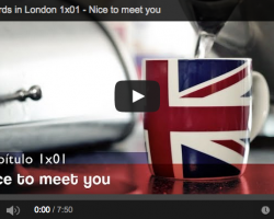 Spaniards in London. Capítulo 1: Nice to meet you