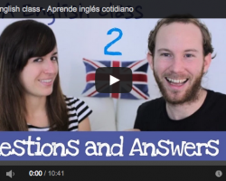 Aprender inglés de forma sencilla. Questions and Answers 2