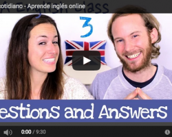 Aprender inglés de forma sencilla. Questions and Answers 3
