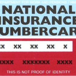 "Solicitar el número de Seguridad Social Británico ""National Insurance Number"""