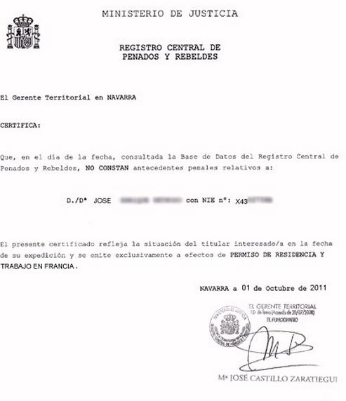 C Mo Pedir Un Certificado De Antecedentes Penales Espa Ol Por Correo O Desde El Extranjero