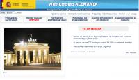 Web empleo de Alemania