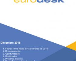 Boletín Eurodesk Diciembre 2015